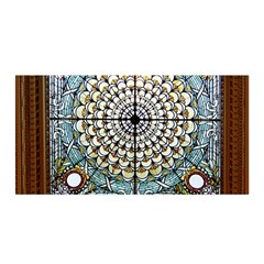 Stained Glass Window Library Of Congress Satin Wrap