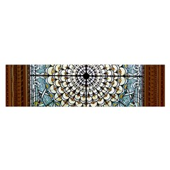 Stained Glass Window Library Of Congress Satin Scarf (Oblong)
