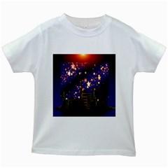 Star Advent Christmas Eve Christmas Kids White T-Shirts