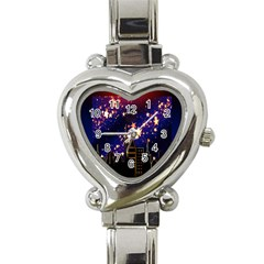 Star Advent Christmas Eve Christmas Heart Italian Charm Watch