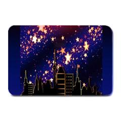 Star Advent Christmas Eve Christmas Plate Mats