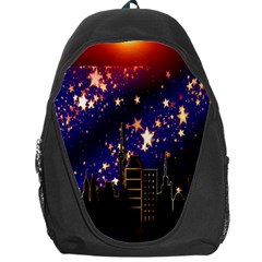 Star Advent Christmas Eve Christmas Backpack Bag