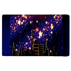 Star Advent Christmas Eve Christmas Apple Ipad 3/4 Flip Case