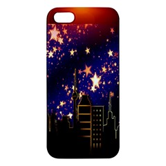 Star Advent Christmas Eve Christmas Apple Iphone 5 Premium Hardshell Case