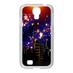 Star Advent Christmas Eve Christmas Samsung Galaxy S4 I9500/ I9505 Case (white)