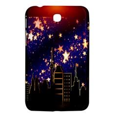 Star Advent Christmas Eve Christmas Samsung Galaxy Tab 3 (7 ) P3200 Hardshell Case