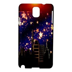Star Advent Christmas Eve Christmas Samsung Galaxy Note 3 N9005 Hardshell Case