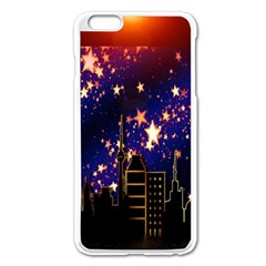 Star Advent Christmas Eve Christmas Apple iPhone 6 Plus/6S Plus Enamel White Case