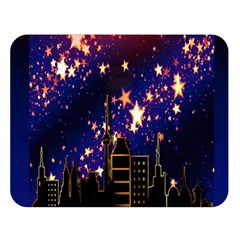 Star Advent Christmas Eve Christmas Double Sided Flano Blanket (large)