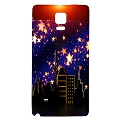 Star Advent Christmas Eve Christmas Galaxy Note 4 Back Case