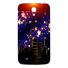 Star Advent Christmas Eve Christmas Samsung Galaxy Mega I9200 Hardshell Back Case