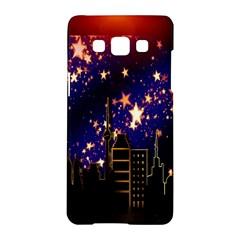 Star Advent Christmas Eve Christmas Samsung Galaxy A5 Hardshell Case