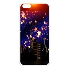 Star Advent Christmas Eve Christmas Apple Seamless iPhone 6 Plus/6S Plus Case (Transparent)