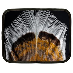 Spring Bird Feather Turkey Feather Netbook Case (Large)