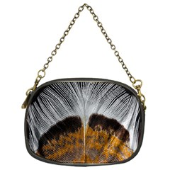 Spring Bird Feather Turkey Feather Chain Purses (one Side)