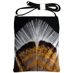 Spring Bird Feather Turkey Feather Shoulder Sling Bags