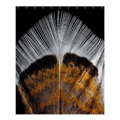 Spring Bird Feather Turkey Feather Shower Curtain 60  X 72  (medium)