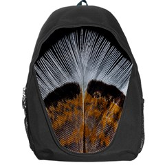 Spring Bird Feather Turkey Feather Backpack Bag