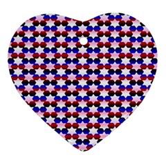 Star Pattern Ornament (heart)