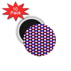 Star Pattern 1.75  Magnets (10 pack)