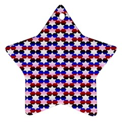 Star Pattern Star Ornament (Two Sides)