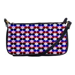 Star Pattern Shoulder Clutch Bags