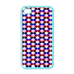 Star Pattern Apple Iphone 4 Case (color)
