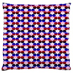Star Pattern Large Cushion Case (two Sides)