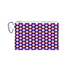 Star Pattern Canvas Cosmetic Bag (S)