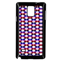 Star Pattern Samsung Galaxy Note 4 Case (black)