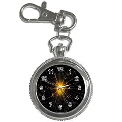 Star Christmas Advent Decoration Key Chain Watches