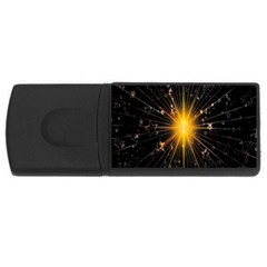 Star Christmas Advent Decoration USB Flash Drive Rectangular (2 GB)