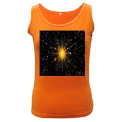 Star Christmas Advent Decoration Women s Dark Tank Top