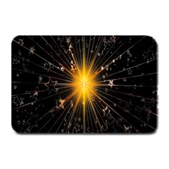 Star Christmas Advent Decoration Plate Mats