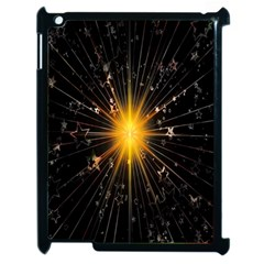 Star Christmas Advent Decoration Apple iPad 2 Case (Black)