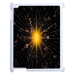Star Christmas Advent Decoration Apple iPad 2 Case (White)