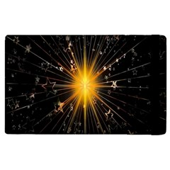 Star Christmas Advent Decoration Apple Ipad 3/4 Flip Case