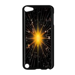 Star Christmas Advent Decoration Apple iPod Touch 5 Case (Black)
