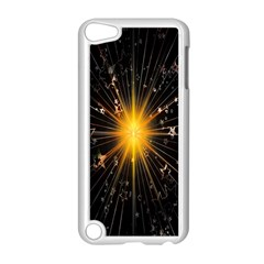 Star Christmas Advent Decoration Apple iPod Touch 5 Case (White)