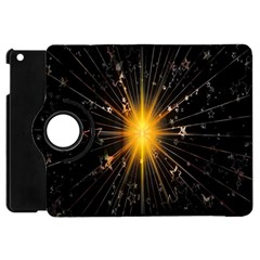 Star Christmas Advent Decoration Apple iPad Mini Flip 360 Case