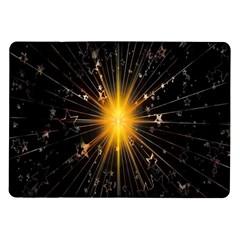 Star Christmas Advent Decoration Samsung Galaxy Tab 10 1  P7500 Flip Case