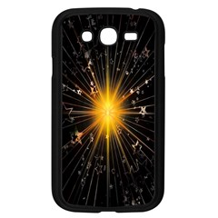 Star Christmas Advent Decoration Samsung Galaxy Grand Duos I9082 Case (black)