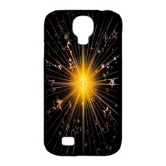 Star Christmas Advent Decoration Samsung Galaxy S4 Classic Hardshell Case (pc+silicone)