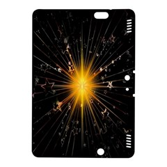 Star Christmas Advent Decoration Kindle Fire Hdx 8 9  Hardshell Case