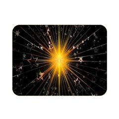 Star Christmas Advent Decoration Double Sided Flano Blanket (mini)