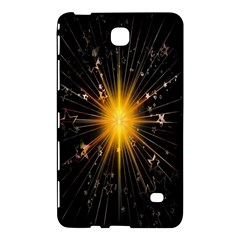 Star Christmas Advent Decoration Samsung Galaxy Tab 4 (7 ) Hardshell Case