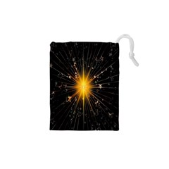 Star Christmas Advent Decoration Drawstring Pouches (XS)