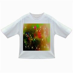 Star Christmas Background Image Red Infant/toddler T Shirts