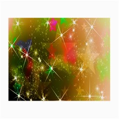Star Christmas Background Image Red Small Glasses Cloth