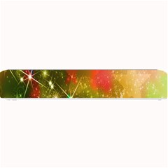 Star Christmas Background Image Red Small Bar Mats